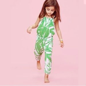 NWT LILLY PULITZER For Target GIRLS JUMPSUIT SMALL